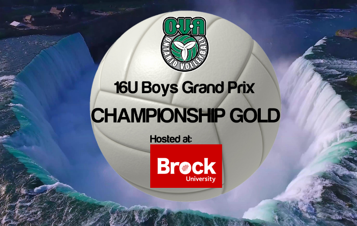OVA 16U Boys Grand Prix @ Brock University