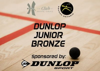 Squash – Dunlop Junior Bronze