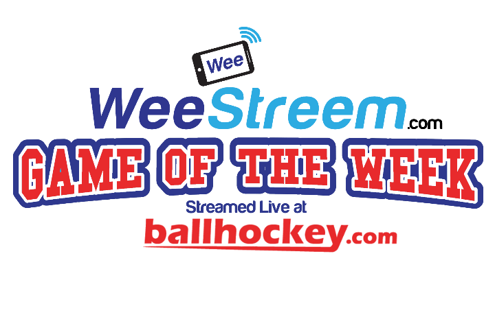 WeeStreem Game of the Week @ BallHockey.com
