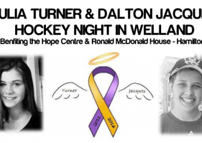 Julia Turner & Dalton Jacques H.N.I.Welland