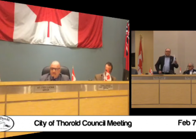 City Council – City of Thorold
