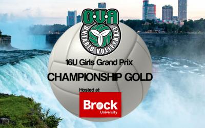OVA 16U Girls Grand Prix @ Brock University