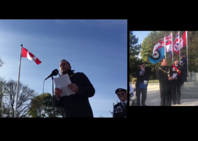 Remembrance Day Ceremony – St. Catharines