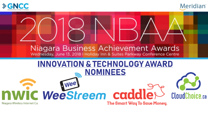 WeeStreem proud to be nominated for a 2018 NBAA Award