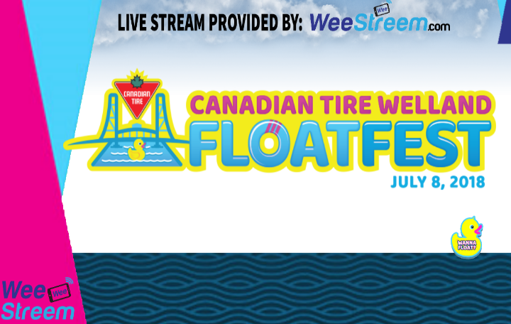 WeeStreem – LIVE ON LOCATION – 2018 Welland FloatFest!