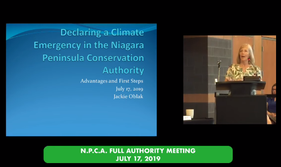 Niagara Peninsula Conservation Authority Board Meeting