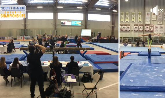 Gymnastics Ontario – Beam