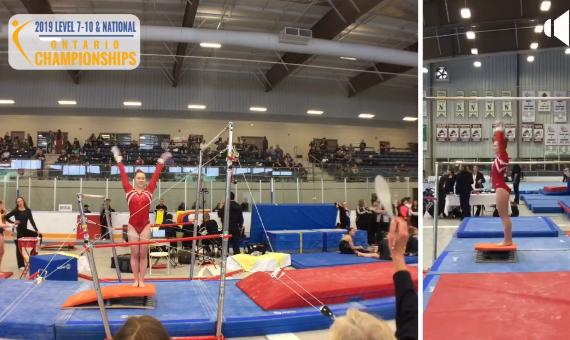 Gymnastics Ontario – Uneven Bars