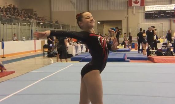Gymnastics Ontario – Women's Floor
