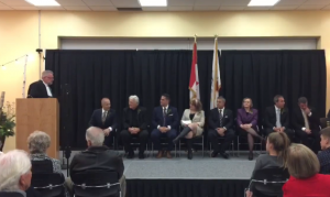 Inauguration Ceremony – Niagara Falls Council