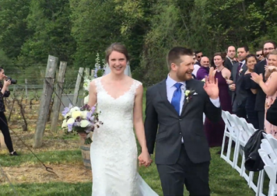 Daniels – Lymer Wedding Ceremony