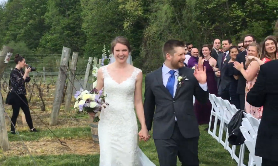 Daniels – Lymer Wedding Ceremony
